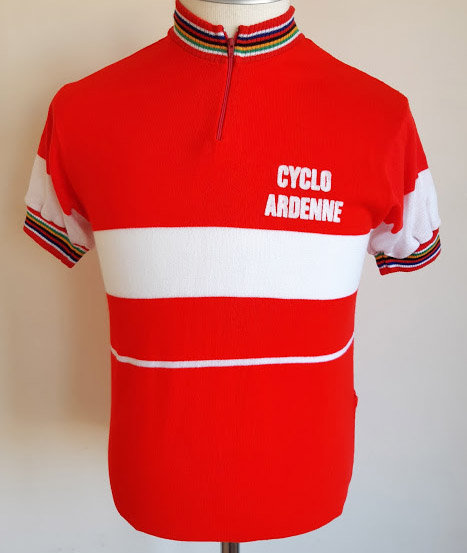 Maillot cycliste vintage Cyclo Ardenne