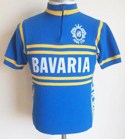 Maillot cycliste vintage Bavaria Beer