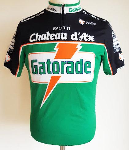 Maillot cycliste équipe Gatorade Château d'Ax
