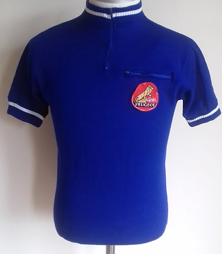 Maillot cycliste vintage Cycles Peugeot