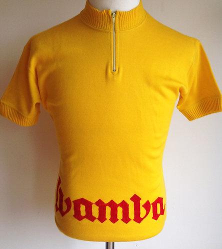 Maillot cycliste vintage Wamba