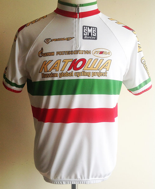 Maillot cycliste Team Katusha Filippo Pozzato