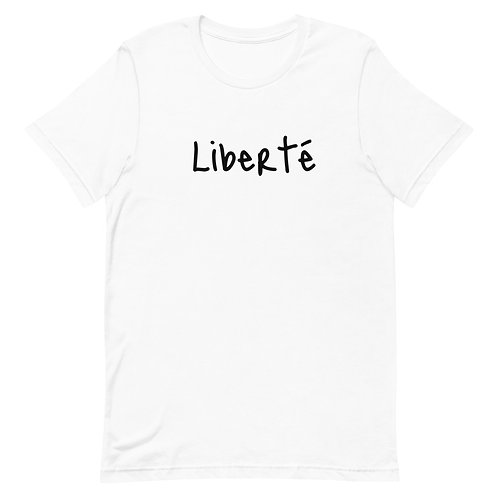 Liberté Women - Men - Unisex Short-Sleeve T-Shirt light colors
