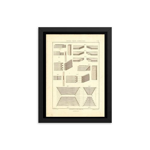 Assemblages Framed poster
