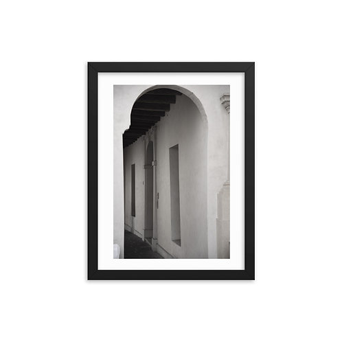 Door Framed photo paper