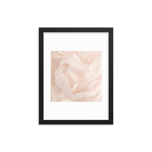 Flower Framed photo paper