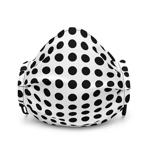 Black Dot Face mask