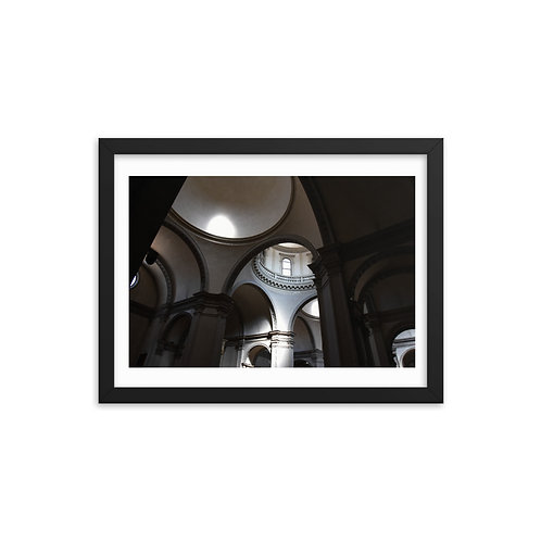 The Cathedral Framed photo paper