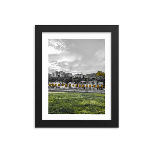 Bouillon, Belgium Framed photo paper