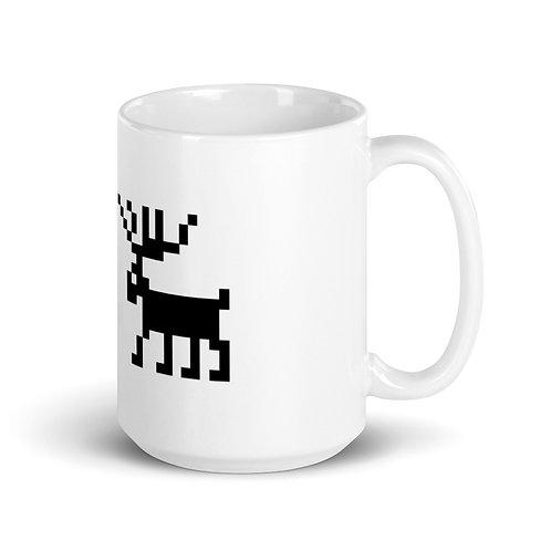 Deer Mug Ceramic