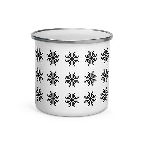 Snow II Enamel Mug