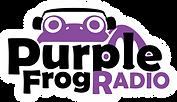 Purple Frog Radio Logo (Outline).png