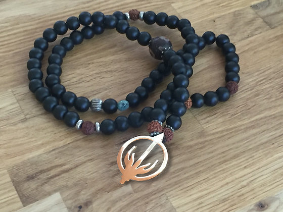 LIGHT WALKERS SYMBOL - MALA only custom orders, no stock