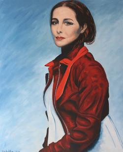 Portrait de femme 100 x 81 cm