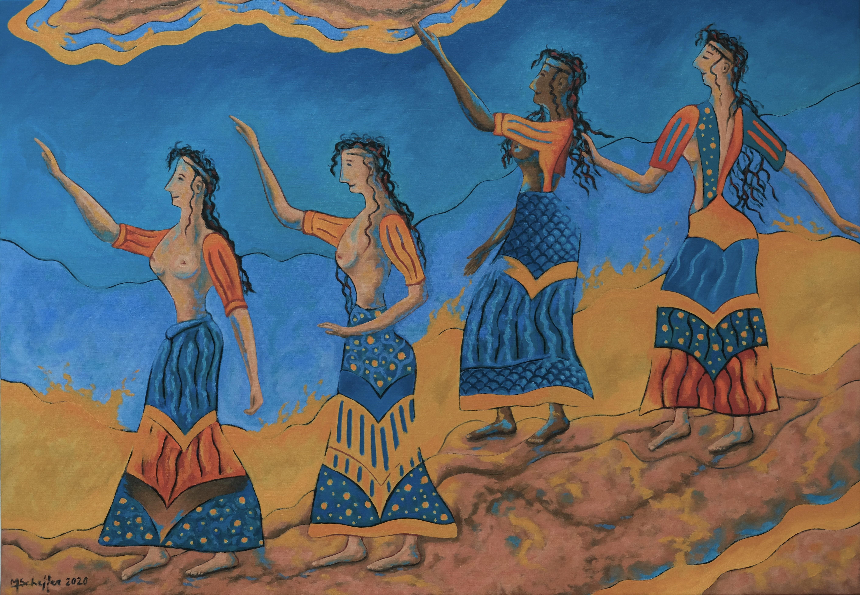 Danse sacrée 81 x 116 cm