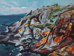 Paysage de Bretagne 50 x 65 cm
