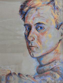 Autoportrait 65 x 50 cm