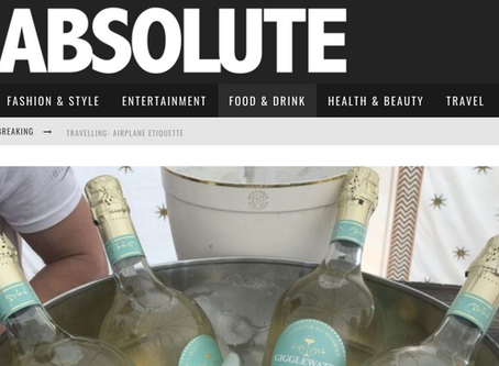 Absolute Magazine's Interview on our Founder, Catherine Monahan and the Gigglewater Brand
