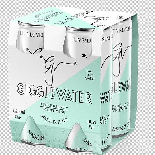 Gigglewater Vino Bianco with Bubbles