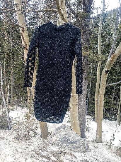 COCKTAIL SHEER DRESS