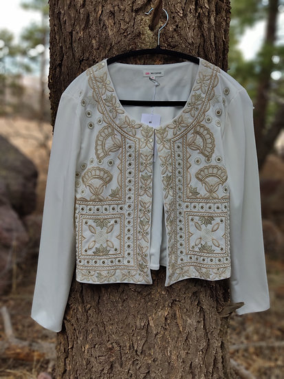 EMBROIDERED FRONT JACKETS