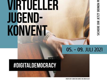 2. Virtueller Jugendkonvent #digitaldemocracy