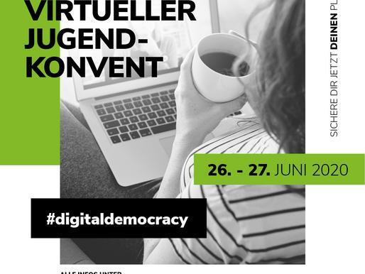 Virtueller Jugendkonvent #digitaldemocracy