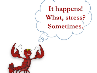 Resilience tip #1 - It happens! What, stress? Sometimes.