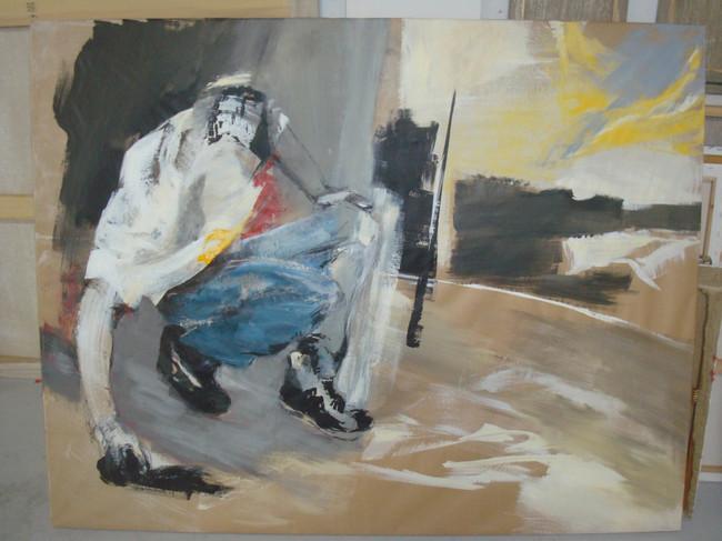 Graffeur, série sur kraft, 2010