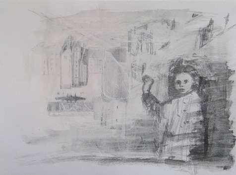 Enfant Ruines Varsovie, Série Au Milieu