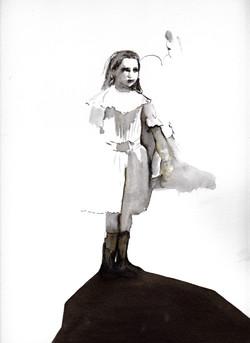 Anne aux bottes
