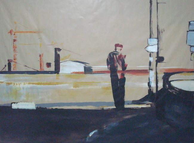 Sur le Port, Série sur kraft 2010