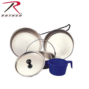 5 pc Stainless Steel Mess Kit