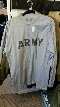 US Army PT long sleeve shirt