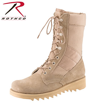 Ripple Sole Desert Tan Boots