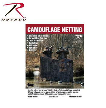 Rothco Ultra-lite Camo Net #6502