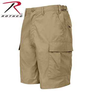 Lightweight Tactical BDU Shorts Khaki