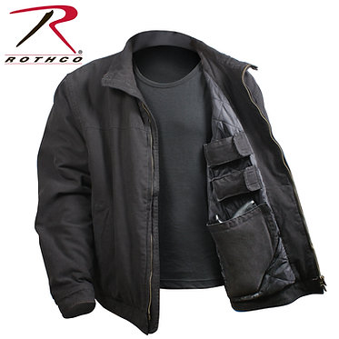 Rothco 3 Season Concealed Carry Jacket Black