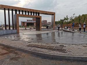 Ashram Gate Structure