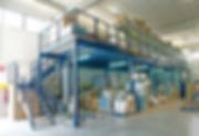 Mezzanine Storage Structure
