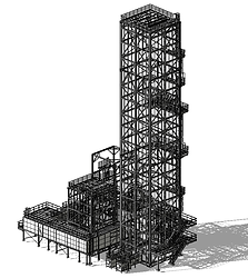 Boiler Supporting Structure
