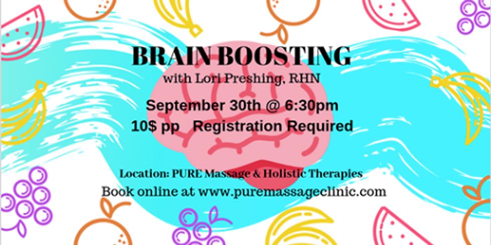 Brain Boosting lecture