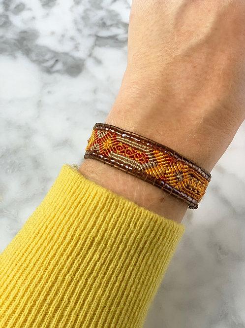 Utz armband oranje