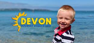 Devon Holiday Caravans Banner