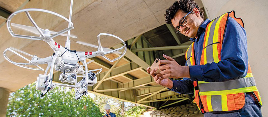 Drone-based assessment software aims to prevent disasters in aging infrastructure