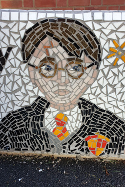 Parkside Primary / Mosaic Story Benches/ Harry Potter