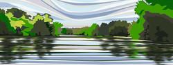 Highams Park Lake. 2020