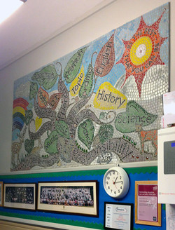 Yardley Primary School / Curriculum Tree Mosaic