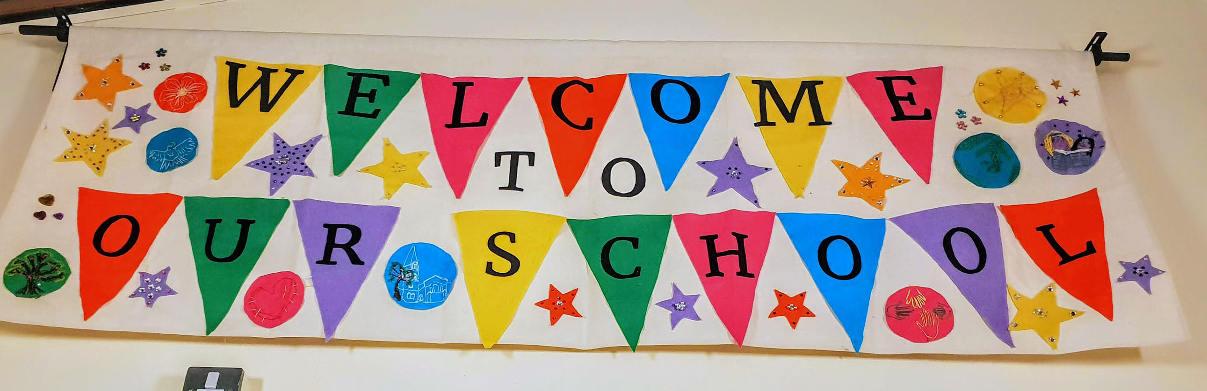 St. Saviours Primary School / Welcome Banner