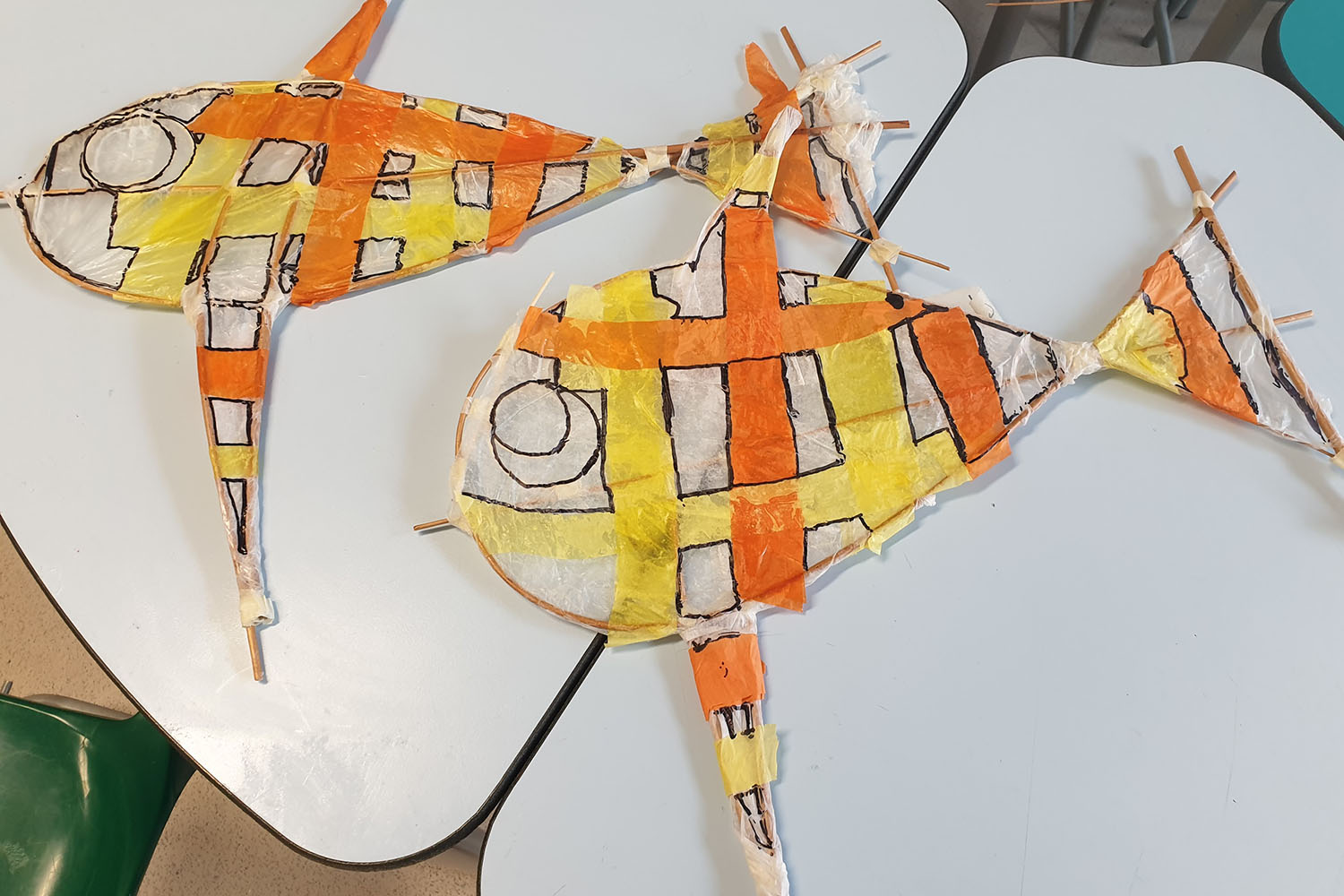 Keir Hardie Primary School / Withie Fish Twins Project with year 3